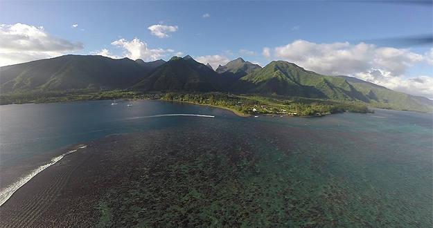 Imagen desde un drone